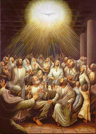 Svätodušné sviatky - svätíme na pamiatku vyliatia Ducha Svätého